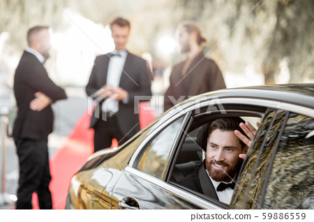 Actor arriving on the awards ceremony 59886559