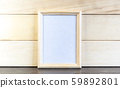 Vertical light frame for paintings on the 59892801