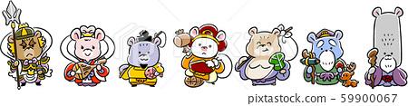 鼠标的七个幸运神连续 59900067