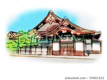 Kyoto Prefecture Kyoto City / Nijo Castle 59901822