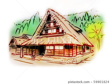 Gifu Prefecture Ono-gun / Shirakawa-go 59901824