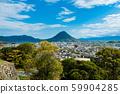 Sanuki Fuji from Marugame Castle 59904285
