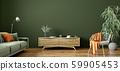 Interior design of modern apartment, living room 59905453