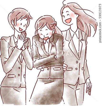 三件套裝女 59913973
