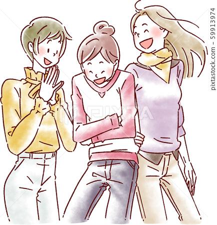 3名女性 59913974