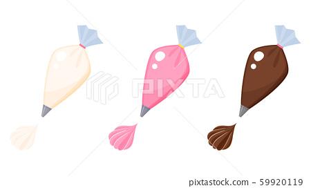 Whip _ drawn bag _ illustration _ 3 color set 59920119