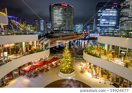 요코하마 베이 쿼터 크리스마스 조명 정원 59926677