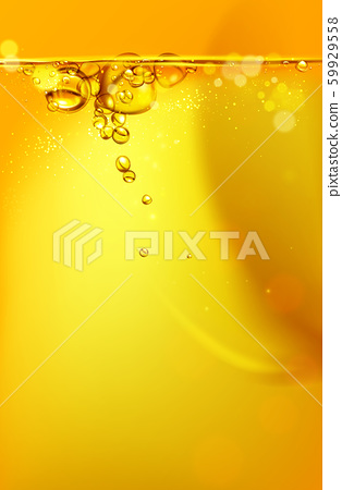 mixing water and oil, beautiful color abstract background. 59929558