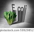 E coli Contaminated Food 59929852