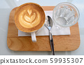 coffee cup latte art 59935307