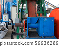 wooden charcoal production factory from garbage. 59936289