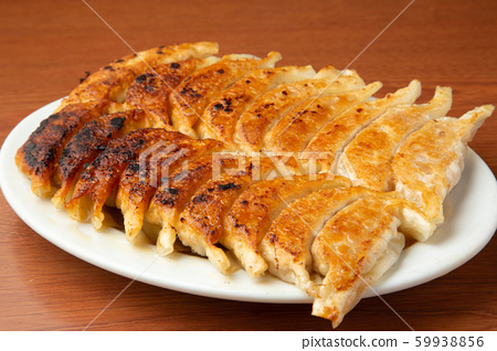 Baked dumplings 59938856