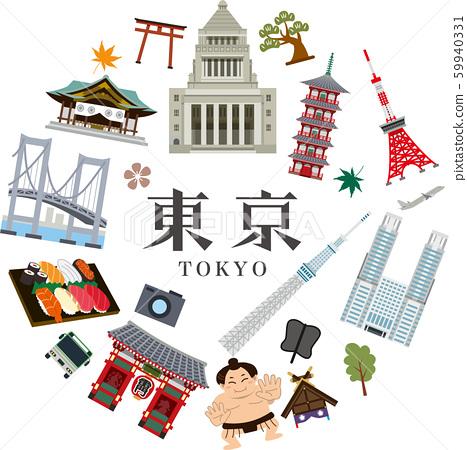 도쿄 관광 59940331