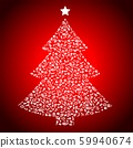 Vegan Christmas and healthy eating with fruit and vegetables icons in a christmas tree. 59940674