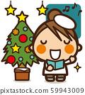 学校的孩子们圣诞女孩合唱团 59943009