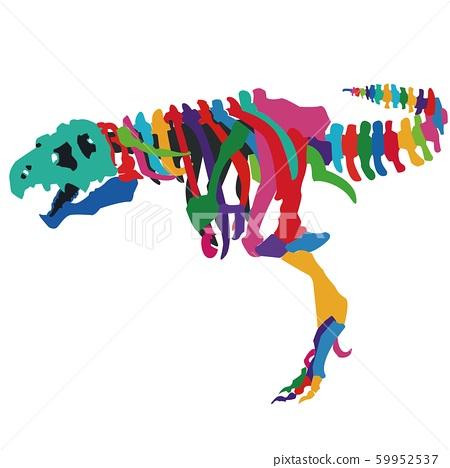 Tyrannosaurus Bone 59952537