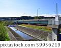 Scenery of Tama River 59956219