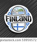 Vector logo for Finland 59956572