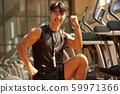 男性健身教練 59971366