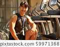 男性健身教练 59971368