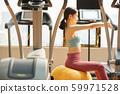 女性健身平衡球 59971528