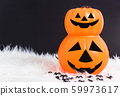Pumpkin Jack orange color this horror is pumpkin 59973617