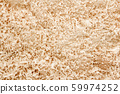 Close up view on wood shavings. Abstract background 59974252