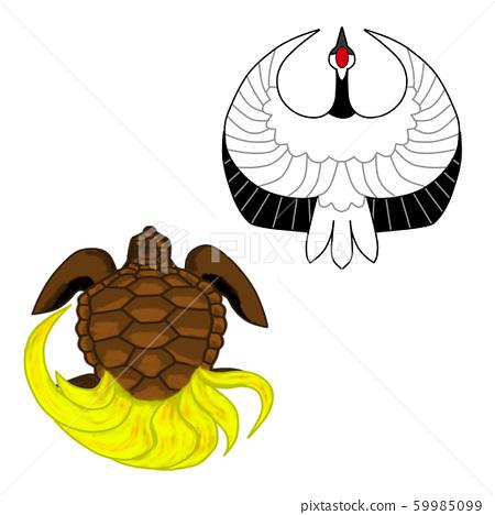 Crane turtle 59985099