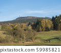 meadow with autumn colorful forest and trees and 59985821