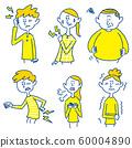 身體狀況不佳,例如肩膀僵硬,背痛,頭痛 60004890