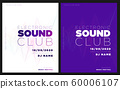 Music festival poster with abstract gradient lines, template design. Colorful Waves Gradient Background. Template for Poster, Web Banner, Pop-Up, presentation, brochure. Geometric template vector. 60006107