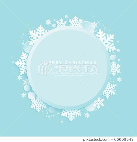 크리스마스 백그라운드, 겨울 배경 60008645