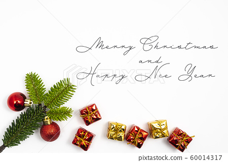 Merry Christmas and happy New Year message 60014317