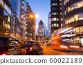 London office building skyscraper, working & 60022189