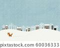 雪景和赤狐 60036333