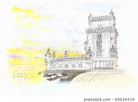 세계 유산의 거리 · 포르투갈 벨렘 타워 60036419