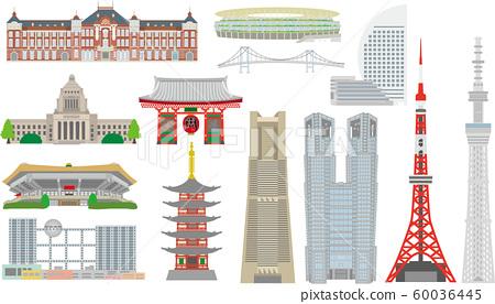 Tokyo Landmark Tourist Attractions 60036445
