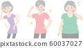 高級女性的身體形態,超重,超重,健康 60037027