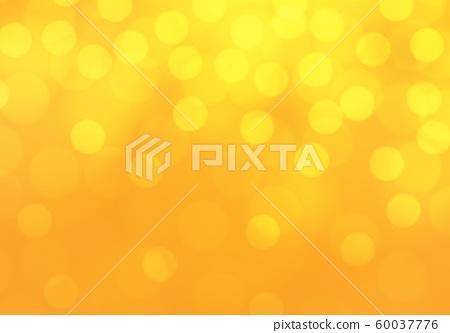 Abstract yellow bokeh light luxury background vector illustration. 60037776