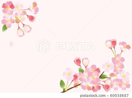 櫻桃背景例證 60038687