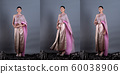 Thai Traditional Costume or South East Asia gold 60038906
