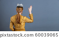 Thai Traditional Costume or South East Asia gold 60039065