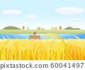 Colorful autumn landscape illustration 010 60041497