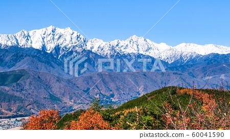 大町市和高aka山的秋天景色 60041590