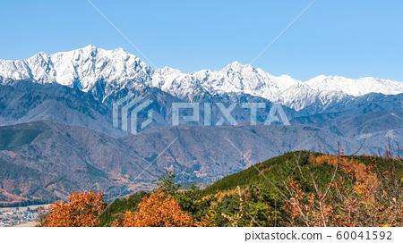 大町市和高aka山的秋天景色 60041592