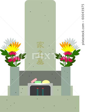 Manicured grave 60043975