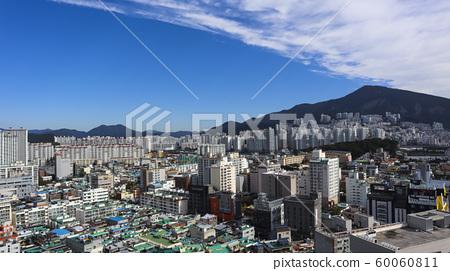 장산에서 도시위로 퍼져가는 구름 60060811