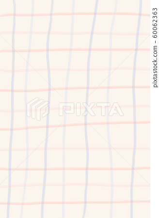 abstract geometric background. grid line wallpaper. hand drawn with checked pattern on bright colour background. pastel colour 60062363