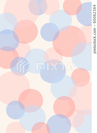 abstract background with circles. bubble textured effect with pastel colour. polka dot pattern 60062364