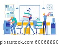Employees Doing Different Tasks Workflow Process 60068890